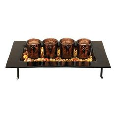 Sterling Industries Votives And Tray Candle Holder (Set of 4)