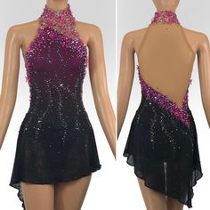 You are in the right place about Skating Dresses gray Here we offer you the most beautiful pictures Ice Dance Dresses, Ice Skating Dresses, Girls Dance Costumes, Dance Outfits, James Bond Dresses, Figure Skating Outfits, Figure Skating Costumes, Salsa Dress, Roller Derby