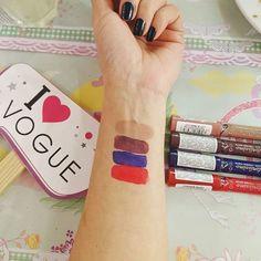ℓяıઽઽıм! . .  Y claramente se pusieron Super ensios@s por conocer los nuevos tonos de #colorissimo de @voguecosmeticosar!!  Hoy estuve estrenando el tono romance y es bellísimo!. Labiales de larga duración matte y de colores intensos!  Les dejo los 4 tonos de arriba a abajo.  Delicada  Idilio  Coqueta  Romance Cuál les gustaría probar primero?? Yo ya soy fan del romance!! . . #bloggerargentina #blogdebelleza #Colorissimoduramuchisimo #makeup #makeuplover #bdpin Fitbit Alta, Romance, Fashion, Rich Colors, Makeup Lips, Hue, Getting To Know, Moda, Romances