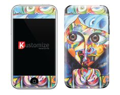 Skin para iTouch - http://cafun.do/yPVO04 R$24,90