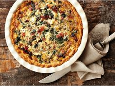 Quiche Recipes, Meat Recipes, Cooking Recipes, South African Dishes, South African Recipes, Savory Scones, Savory Tart, Good Food
