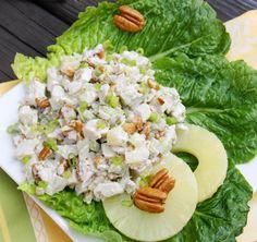 Pineapple-Pecan Chicken Salad