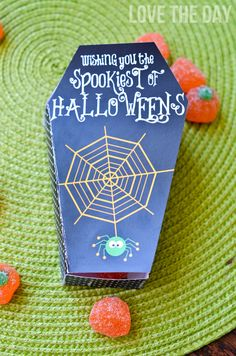 printable coffin box for treats
