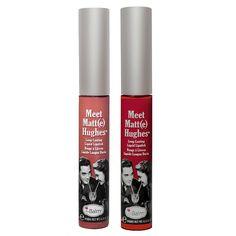 theBalm Meet Matt(e) Hughes Long-Lasting Matte Liquid Lipstick Duo, Multicolor
