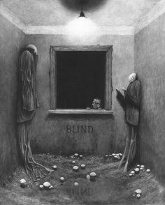 ベクシンスキーの絵は3回見たら死ぬ!?展覧会や画集はあるの? | アクリルラボ
