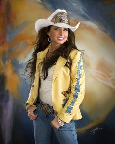 Brooke Owen, Miss Rodeo Illinois, 2011.