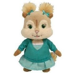 Ty Alvin and the Chipmunks 8″ Eleanor Plush Doll « Delay Gifts Ty Stuffed  Animals caf03244e2b8
