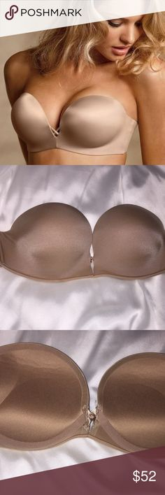 1c5232bcae Victoria s Secret Bombshell Push-Up Bra 38D Beige Victoria s Secret  Bombshell Miraculous Add-2