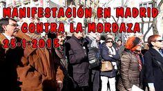 MANIFESTACIÓN EN MADRID CONTRA LA MORDAZA