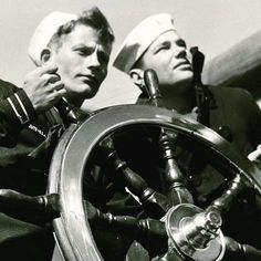#SeaScouts manning the helm in the 1930s. The 1920s and 30s were a time of growth for Sea Scouts. We are continuing that tradition today working to start new Ships in Grants Pass Oregon and Maui. The goal is for every Boy Scout Council to have at least one ship. #GetOnTheWater #TBT
