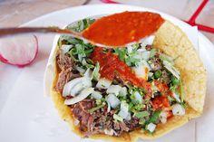 Tacos De Cabeza - La Chuleta Tijuana by The Masa AssAssin, via Flickr