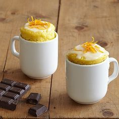 Orange and chocolate chip mug cake | Cake Recipes | Mug cakes - Red Online
