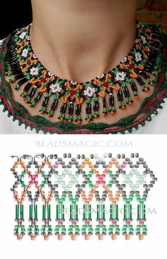 Diy necklace 604256474974287949 - Free pattern for necklace Ivanka seed beads seed beads bugles Source by Seed Bead Bracelets Diy, Seed Bead Jewelry, Bead Jewellery, Beaded Bracelets, Seed Beads, Making Bracelets, Jewelry Making, Bullet Jewelry, Jewelry Bracelets
