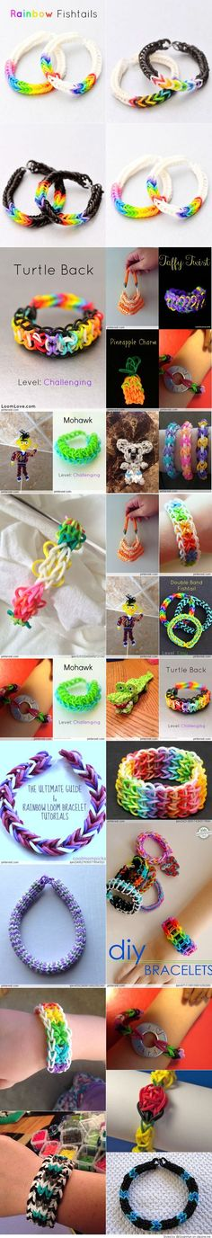 197 best rainbow loom images on pinterest rainbow loom creations rh pinterest com