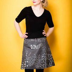 Skirt: Berlin by night, design: s.wert, http://www.s-wert-design.de