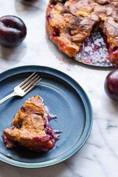 The New York Times Famous Plum Torte (Video! Tart Recipes, Baking Recipes, Sweet Recipes, Dessert Recipes, Healthy Recipes, Fruit Recipes, Summer Recipes, Vegetarian Recipes, Plum Torte
