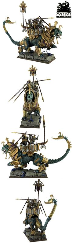 Tomb Kings Khemrian Warsphinx