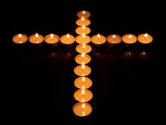 Candlelight Silent Night - Romantic Candle Light Wallpaper - Christmas Celebration, Candles in Cross Shape - Romantic Candle Light Photos 10 Candle Light Images, Prayer Stations, Lit Wallpaper, Candle In The Wind, Let Your Light Shine, Candels, Christmas Candles, Twinkle Lights, November