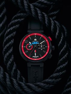 Louis Vuitton America's Cup watch, the Tambour Regatta automatic, one of two specialty watches introduced for the contest, which will be held in San Francisco in 2013.