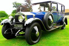 1924 Limousine by Arthur Mulliner (chassis 21AU)