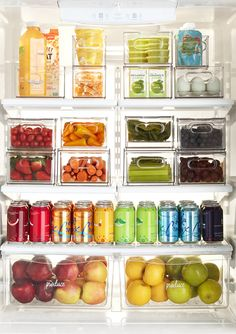 The Container Store Fridge Drawers, Refrigerator Organization, Hanging Drawers, Freezer Organization, Organizing Life, Kitchen Organization, Organization Ideas, Must Have Kitchen Gadgets, Counter Depth Refrigerator