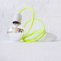 3 :: custom hanging light lamp w/ color cord pendant- 4ft Max Length.