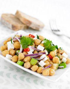 Kikertsalat med chili | www.greteroede.no | www.greteroede.no