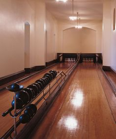 The Bowling Alley inside America's largest home | Biltmore | Asheville, NC