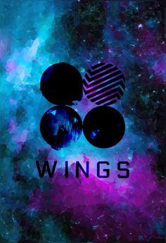 BTS Wings Album Galaxy Wallpaper || by Kpoptensile IG