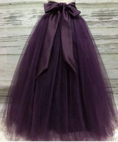 Puffy Dark Purple Long Tulle Skirts For Women With Riffon Sash Puffy Tutu Skirt Female Adult Saias Custom Made New Elastic Diy Robe Tulle, Diy Tulle Skirt, Robes Tutu, Long Tulle Skirts, Long Tutu Skirt, Tulle Tutu, Adult Tulle Skirt, Black Tulle Dress, Skirt Pleated