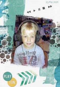 Digiscrap Audio Musique ecouteur