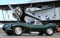 Decisions, decisions: Do I take the Jaguar XK-SS or the Boeing Stearman Biplane?