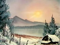 All Paintings done by Bob Ross