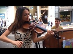 Spontaneous Street Piano and Violin Duet in New York City, with Ada Pasternak - Part 1 Just the Two of Us (Bill Withers) https://www.youtube.com/watch?v=YQSzk44hBmk | Part 2 Summertime (Louis Armstrong) https://www.youtube.com/watch?v=ih9BaY1Cu3A