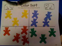 Mrs. Lee's Kindergarten: Color Fun and Brown Bear!