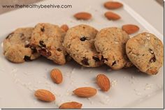 Oatmeal Free Oatmeal Raisin Cookies- going try to substitute almond with coconut flour to make low oxalate.