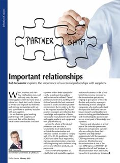 Bob Newsome - Important relationships - The Dentist, Feb 2015 (78/80). Page 1 of 2.