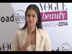Kajol looking gorgeous at Vogue Beauty Awards 2014.
