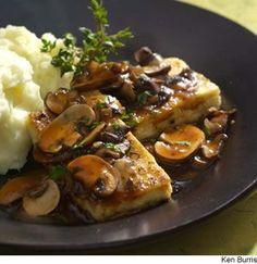 Tofu Cutlets Marsala Recipe