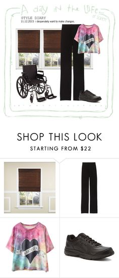 """I'm just a girl... in a wheelchair! ~ today in my life"" by mrs-scarlett ❤ liked on Polyvore featuring Victoria's Secret, New Balance, women's clothing, women, female, woman, misses and juniors"