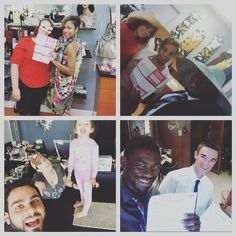 Our team had a #selfie contest with their customers and we want YOU to choose the winner! Who do you think did it best?!   #selfies #eandlglobalcomm #michigan #team #marketing #sales #meetings #fun #workhard #entrepreneurs #business #instagood
