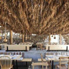 Restaurante e Bar Alemagou, na ilha Mykonos, Grécia. Projeto de K-Studio. #restaurant #restaurante #sentidos #sense #artes #arts #art #arte #decor #decoração #architecturelover #architecture #arquitetura #design #interior #interiores #projetocompartilhar #davidguerra #shareproject #alemagou #island #mykonos #grecia #greece #europa #europe #kstudio #k-studio