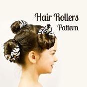 Hair roller pattern - via @Craftsy