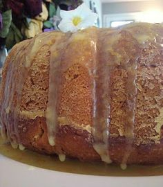 It Started With One.......: Sweet Potato Pound Cake with Citrus Glaze