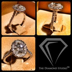 Congratulations to the lovely Corey Lee on her engagement! The ring I designed for her features a beautiful oval-cut diamond. The surrounding halo is done using a v-cut setting, allowing more of each small diamond to be seen. She wears the ring well! Best of luck to this entertainment power couple, they will be making music together for the rest of their lives! #diamonds #weddings #engagementring #halo #jewellery #jewelry #thediamondstudio