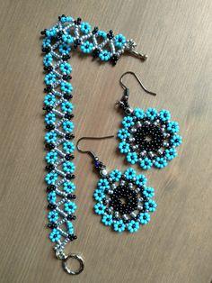 Seed Bead Jewelry, Bead Jewellery, Beaded Jewelry, Seed Beads, Jewelry Patterns, Beading Patterns, Beaded Earrings, Beaded Bracelets, Beading Tutorials