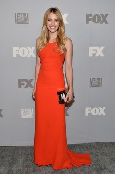 Emma Roberts at the FOX Emmys after-party