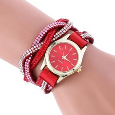 Fashion New Leather Bracelet Watch Women Dress