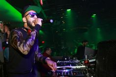 Producer and DJ, Swizz Beatz, stopped by to deliver an amazing live DJ set.