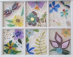 Floral windows - image ideas